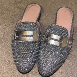 J. Crew mules. Size 8. Wonderful condition.